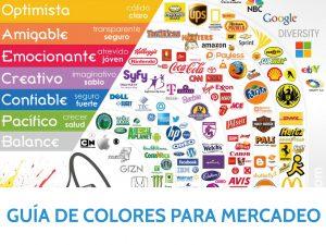 Guía de colores para mercadeo