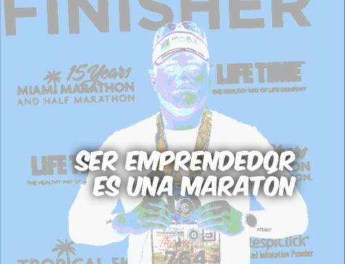¡Ser emprendedor es una maratón, no un sprint!
